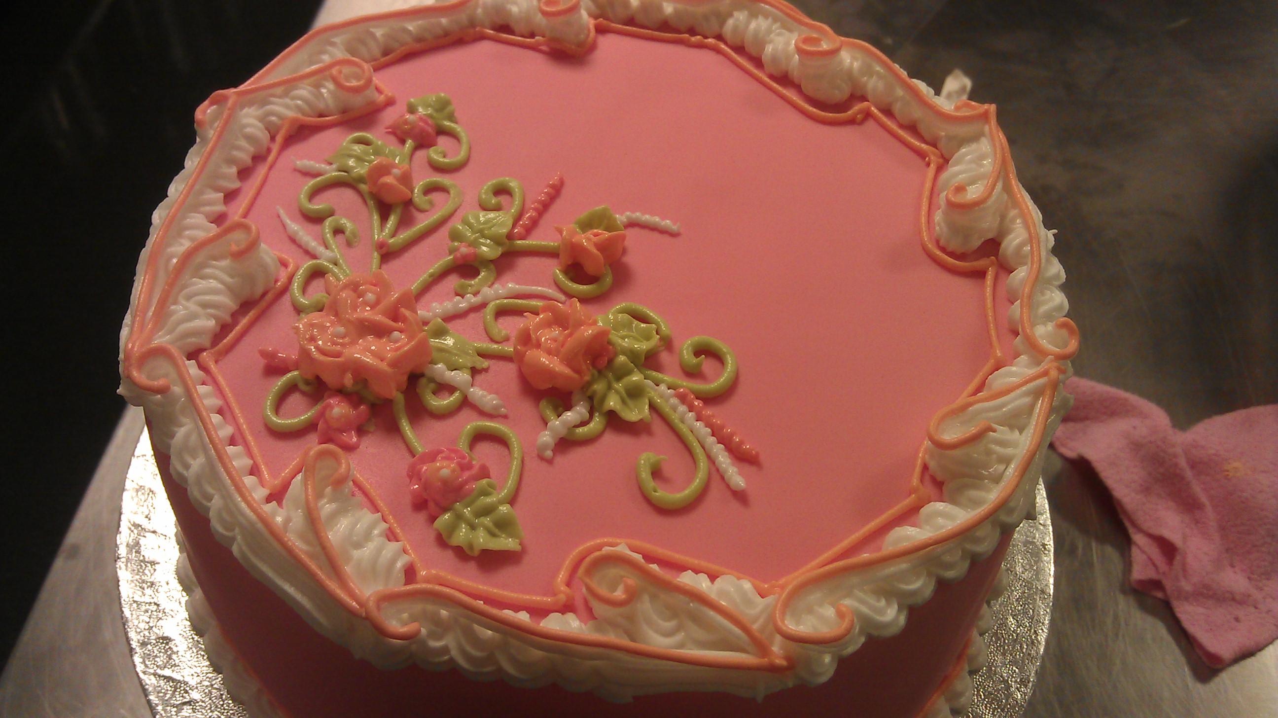 taart icing
