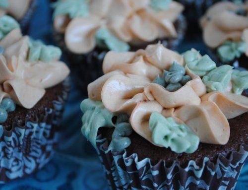 Chocolade Fudge Cupcake